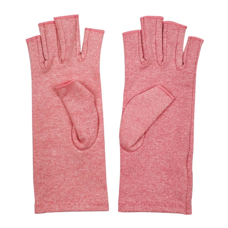 Compression Gloves Half Finger Lightweight Breathable Therma